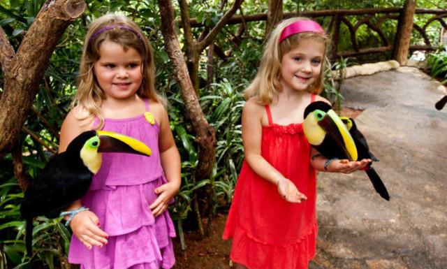 Children at Waterfalls Garden