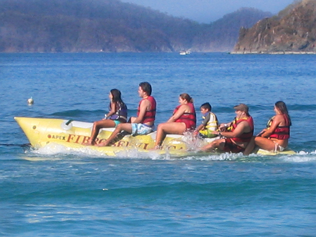 Banana Boat (Family Activities in Costa Rica)