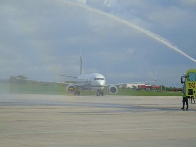 Alaska Airlines inaugural flight