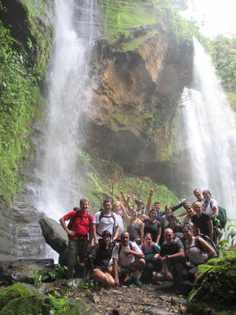 Diamante Waterfalls