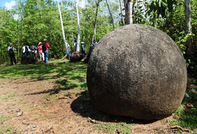 Stone Spheres in Costa Rica