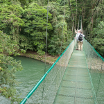 Hanging Bridge over the Sarapiqui River