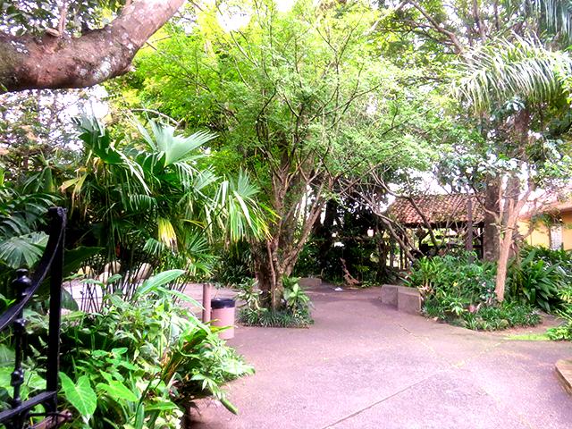 National Museum Gardens in San Jose, Costa Rica