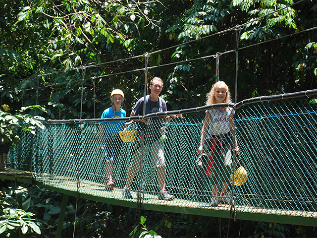 Activities for families in Costa Rica