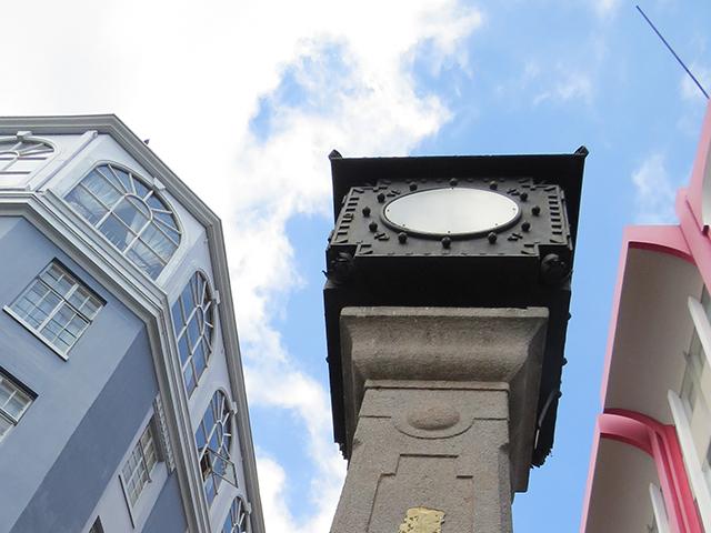 Clock in Central Avenue