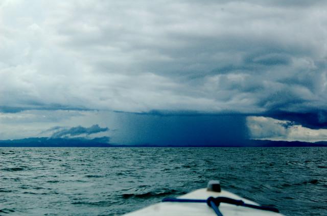 Rain in Golfo Dulce