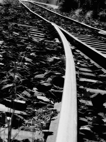 The traintrack with so many stories