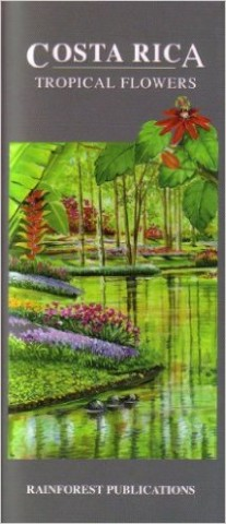 Laminated guide on flowers