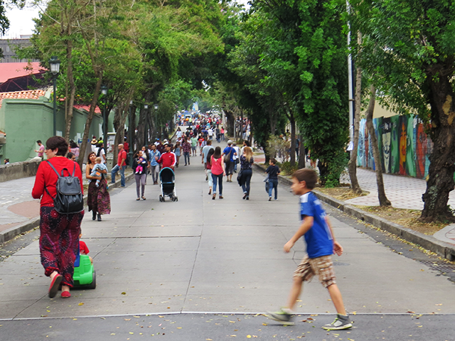 Streets of San Jose in Transitarte