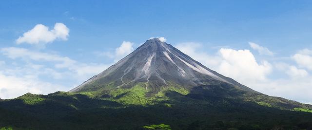 Volcanoes in Costa Rica