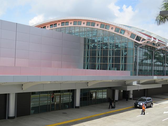 SJO Airport exit