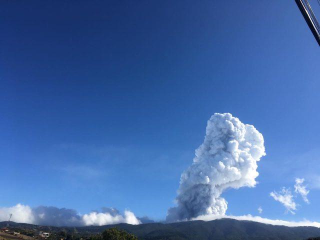 Poás Volcano eruption