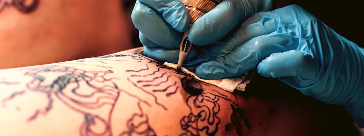 Getting a tattoo in Costa Rica