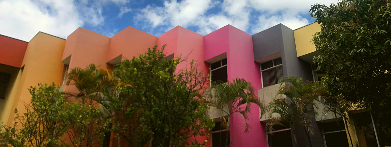 The Letras building at the University of Costa Rica