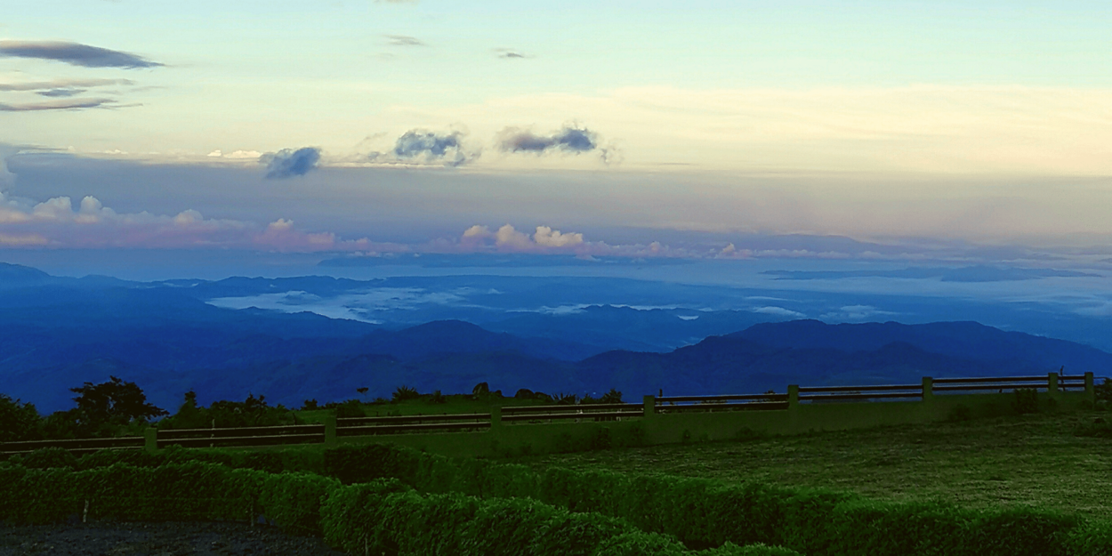 A view of the Gulf of Nicoya from Monteverde